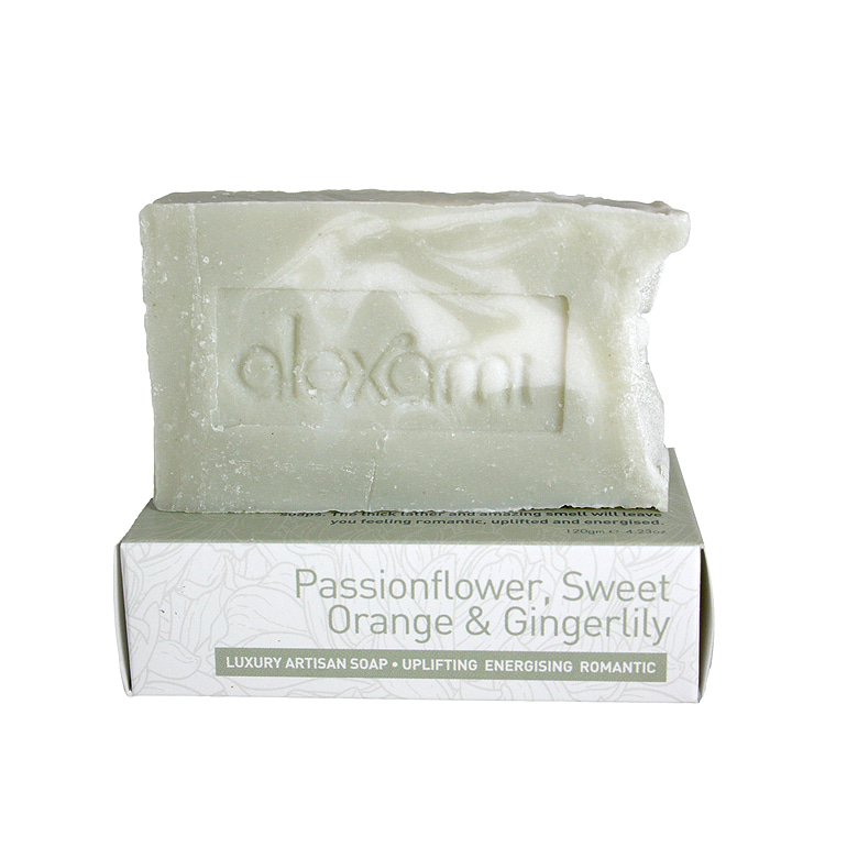 PASSIONFLOWER, SWEET ORANGE & CINGERLILY SOAP 120g